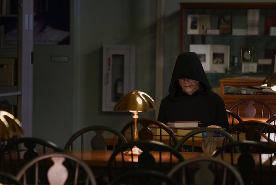 When he's not haunting, the Bye Bye Man enjoys walks on the beach, yoga, and quiet afternoons in the library.