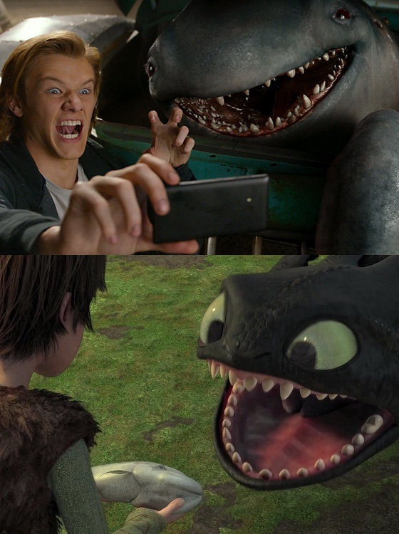 Monster Trucks How to Train Your Dragon