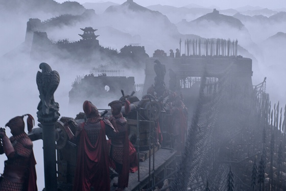 When it takes a moment to be still, The Great Wall sometimes looks like traditional Chinese painting.