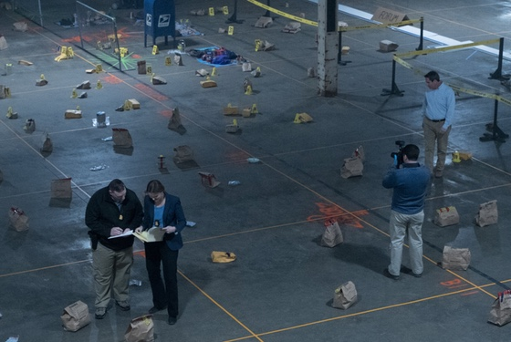 "The ""evidence grid"" with which the FBI and Boston PD attempt to re-create the bombing scene is legitimately the most gripping bit in this movie."