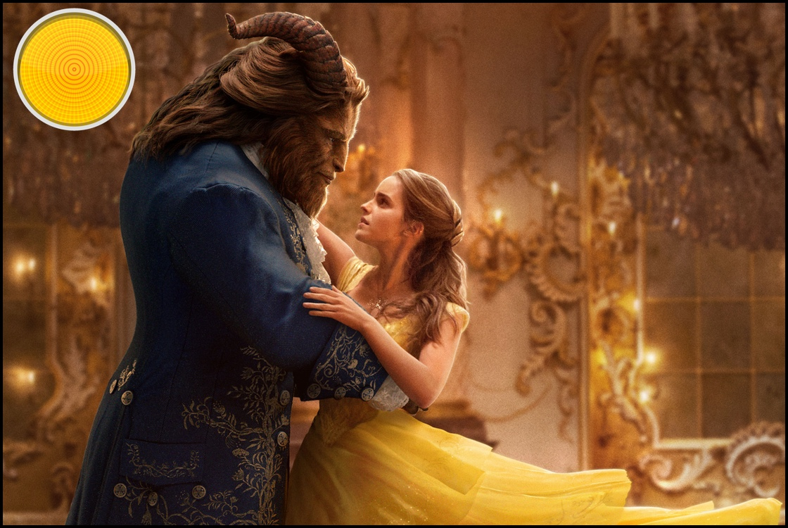 Beauty and the Beast yellow light