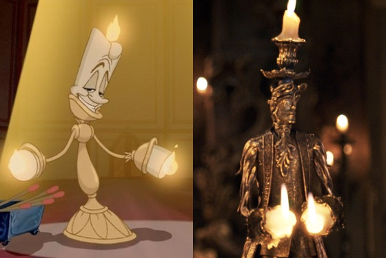 CGI Lumière cannot hold a candle to the simple pen-and-ink version.