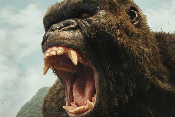 Skull Island: Come for the giant angry ape...