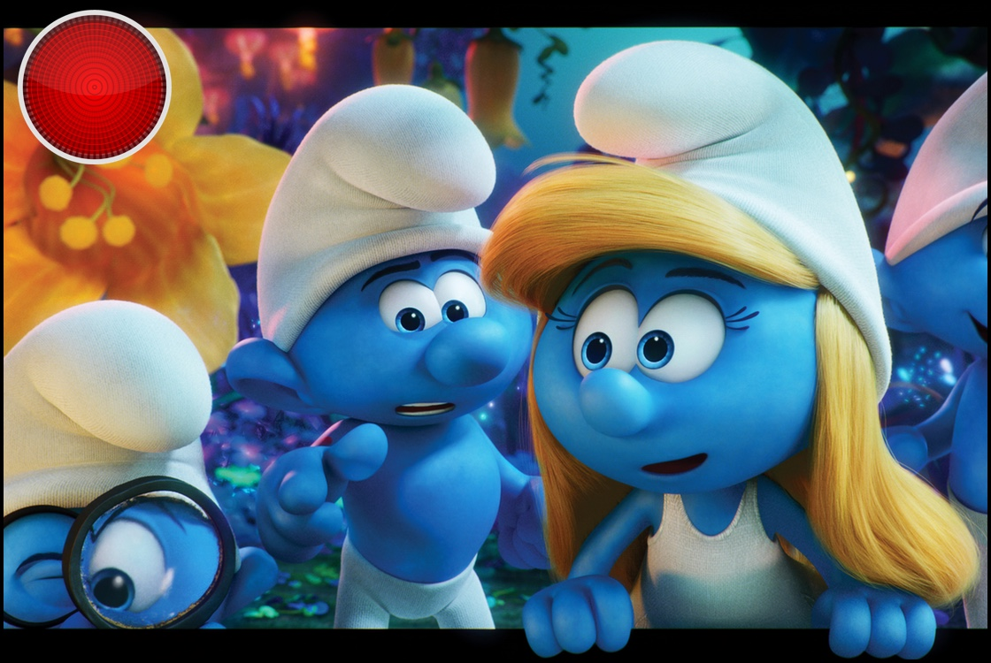 Smurfs The Lost Village red light