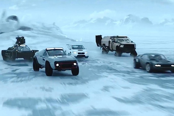 Fast and Furious... on Ice!