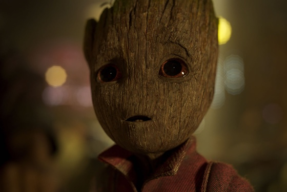 """I am Groot."" (translation: ""I command you to buy adorbs Baby Groot merch."")"