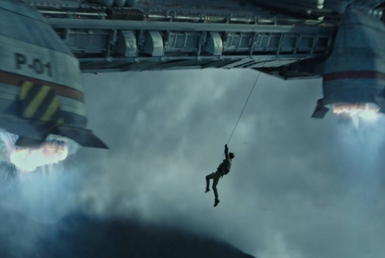 Despite all best efforts, rappelling from orbit never really caught on as a sport.