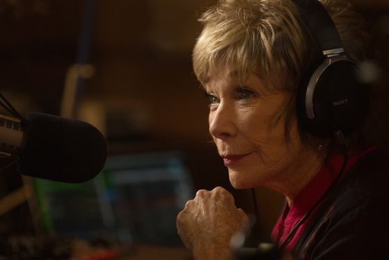 Shirley MacLaine storms her way into an indie-radio DJ job: that's the sort of whim she can act on.