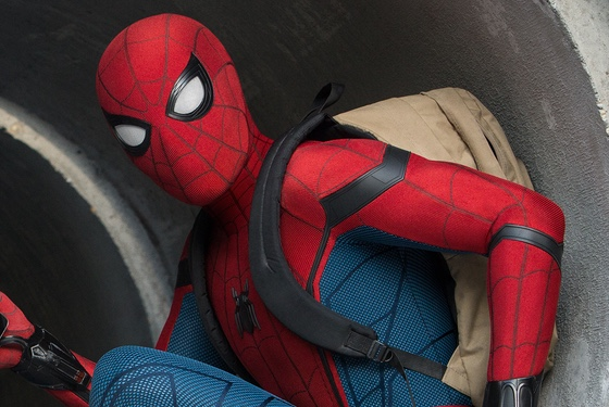 """Spidey Suit 2.0 is gonna have some pockets, so I can stop hauling this stupid backpack around."""
