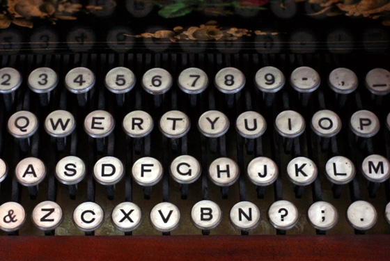 Song in the key of QWERTY...