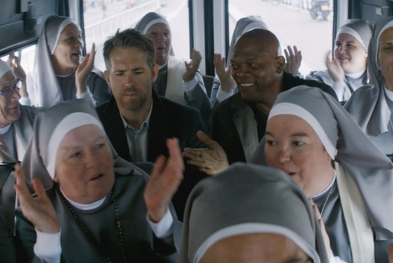"Storytelling tip: Nothing says ""action comedy"" like a busload of nuns."
