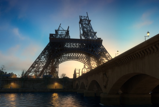Apparently Paris in 1888 was a temporal hotspot into which anachronisms from the future fell with startling regularity.
