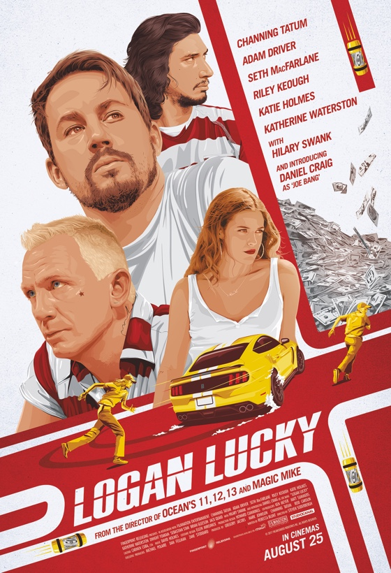 logan lucky movie review a waste of a heist