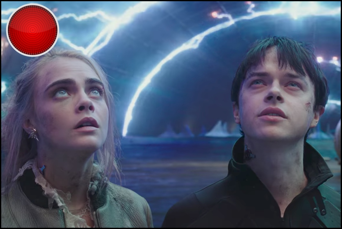Valerian and the City of a Thousand Planets red light