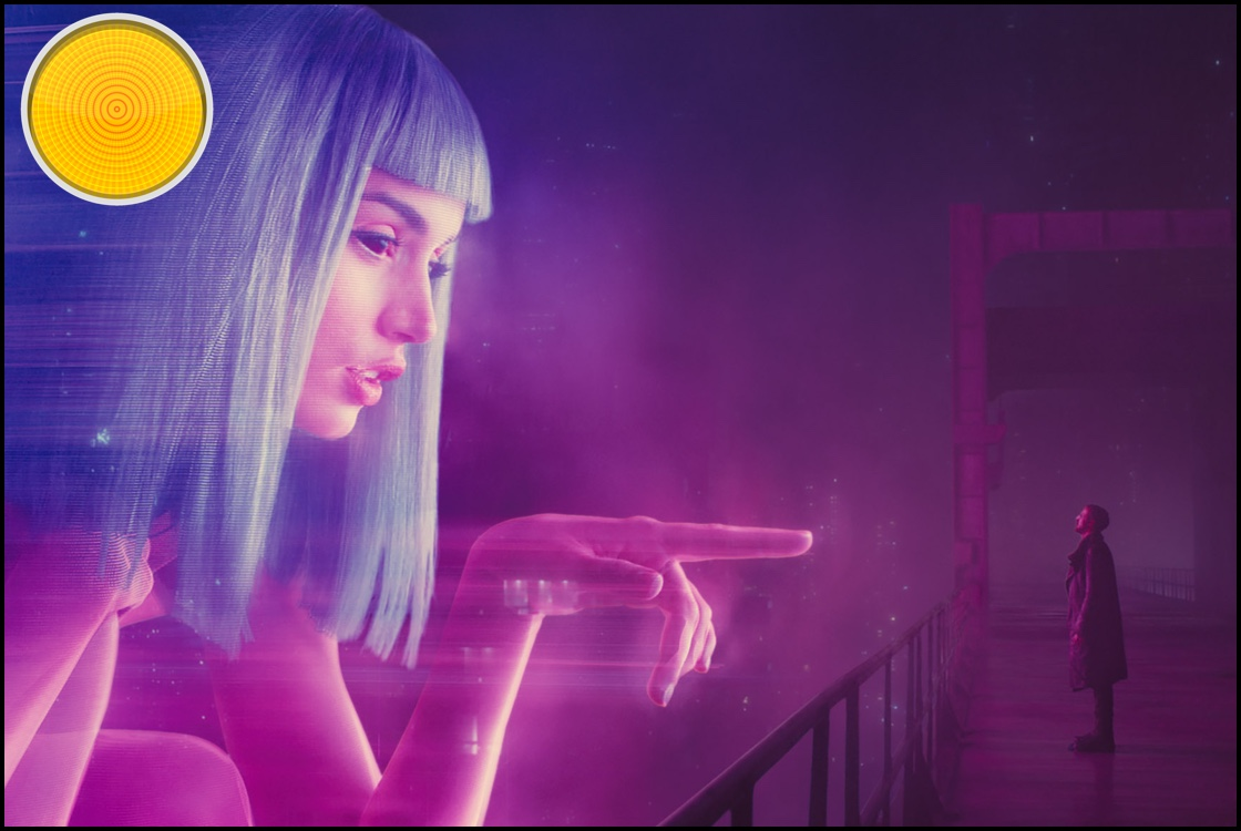 Blade Runner 2049 yellow light