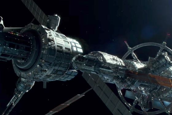 We can't even get back to the moon but the ISS will look like this in the 2020s? Ha.