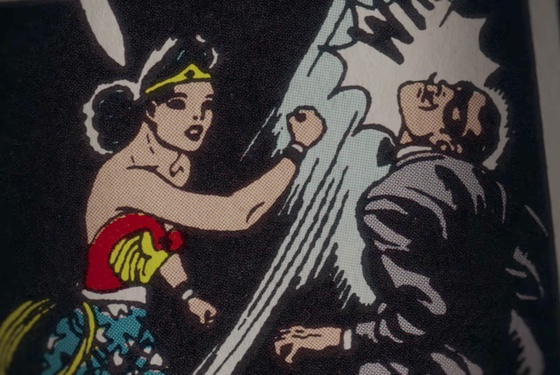 How Wonder Woman deals with men who deny her personhood and agency.