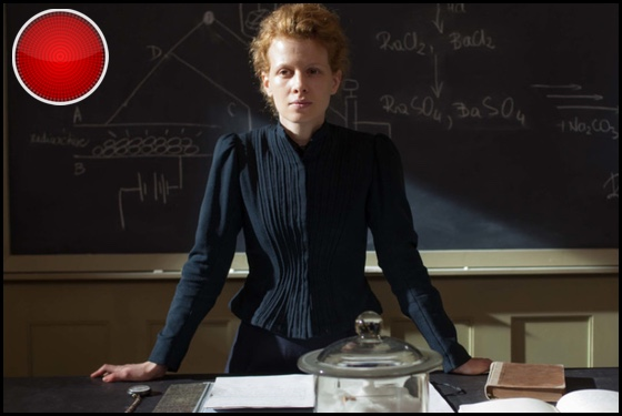 Marie Curie: The Courage of Knowledge red light