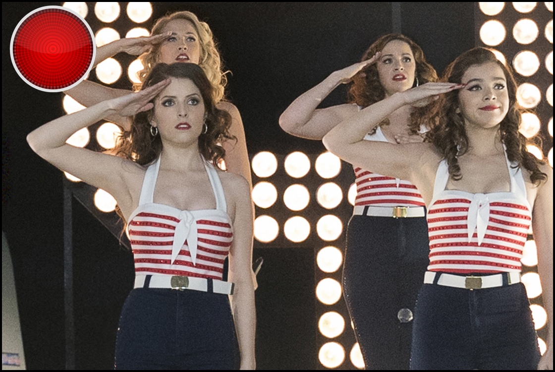 Pitch Perfect 3 red light