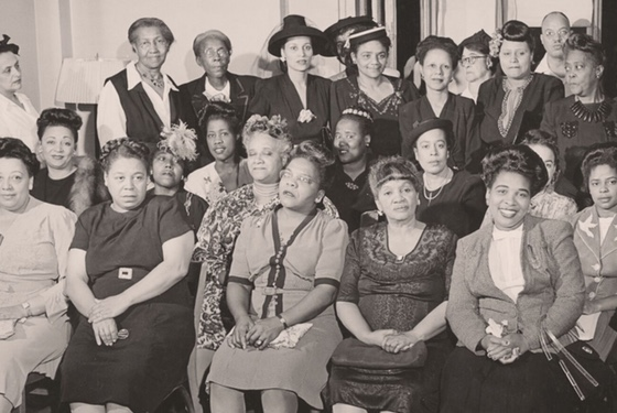 Black women civil rights activists. What are their names? I don't know: they've been erased.