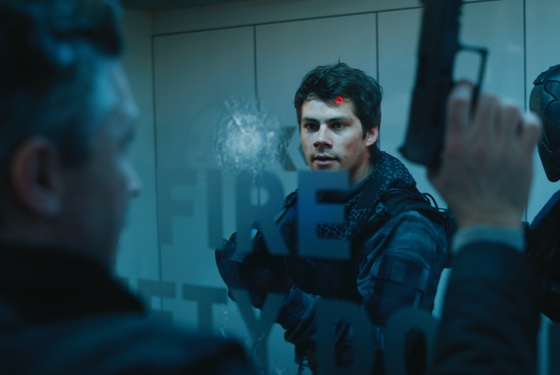 """Bet you're not so in love with your futuristic bulletproof glass now, huh, dude?"""