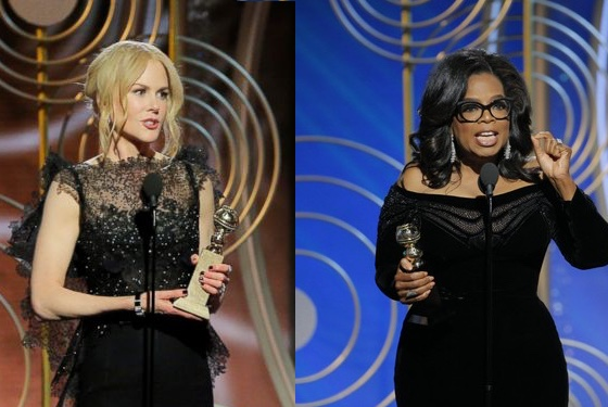 Celebrity influence being used for good at Golden Globe Awards — TRITCH