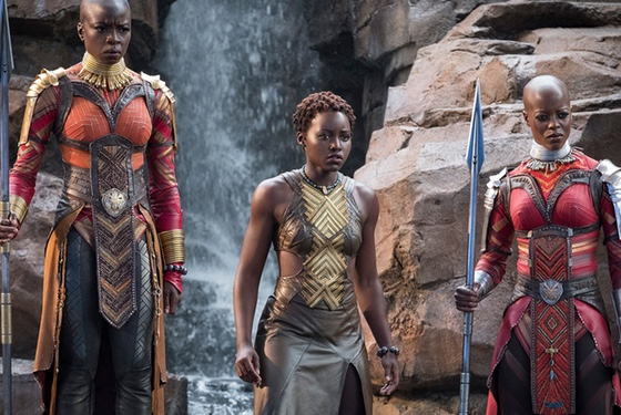 The women of Wakanda are in every way the equals of men... except perhaps maybe even more fabulous.