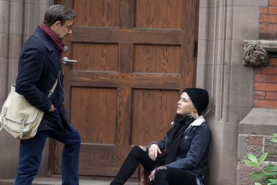 """""""Ah, you think you can fool me with this 'innocent little creature huddling on the stoop in the cold act,' eh? Well, it's working."""""""