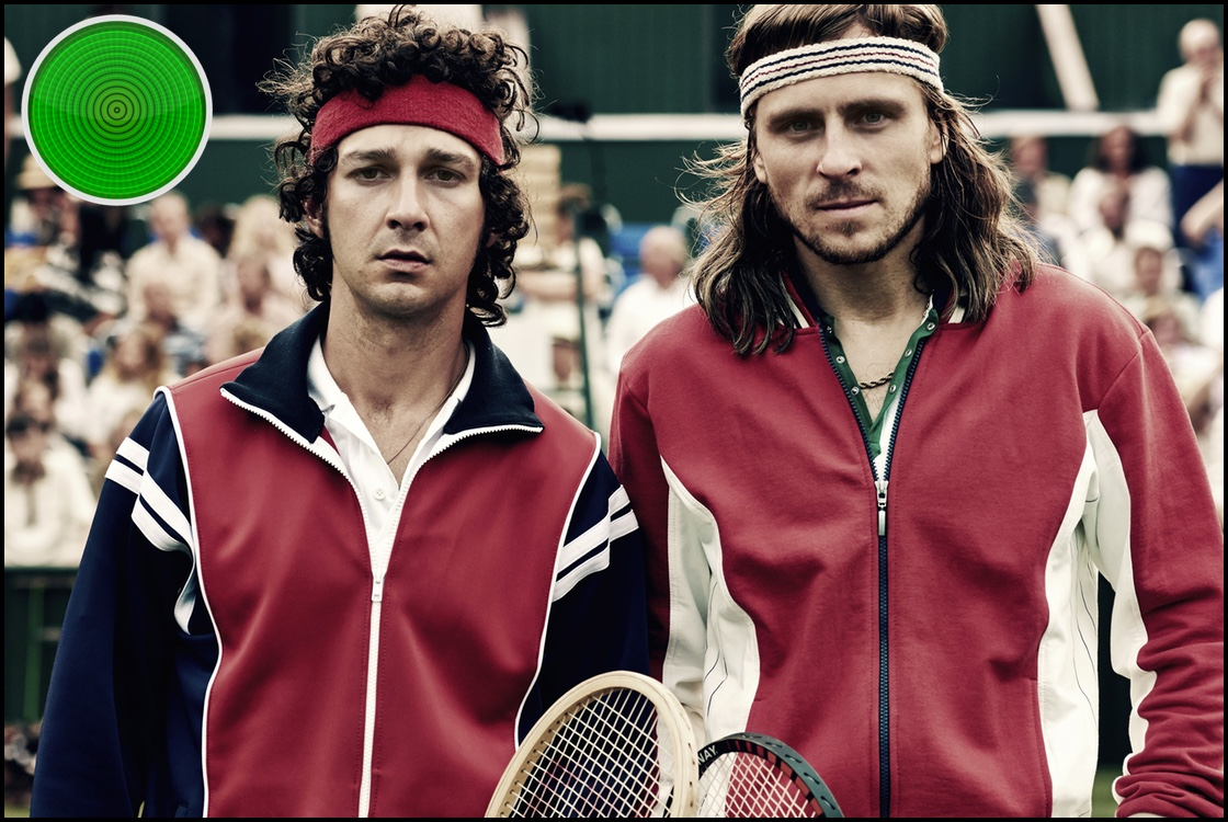 Borg vs McEnroe green light