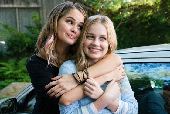 Thank goodness A didn't leap into the body of Rhiannon's sister (Debby Ryan). That could have been awkward.