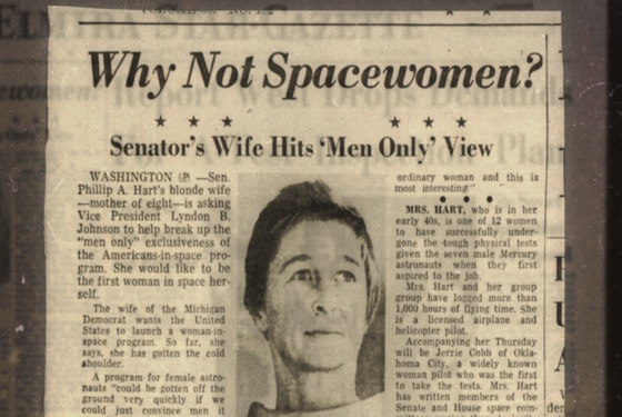 Yeah, why not spacewomen?