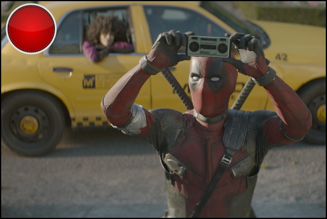 Deadpool 2 red light