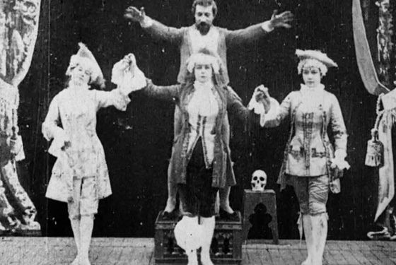 Still from a Georges Méliès film in the Brinton Collection.