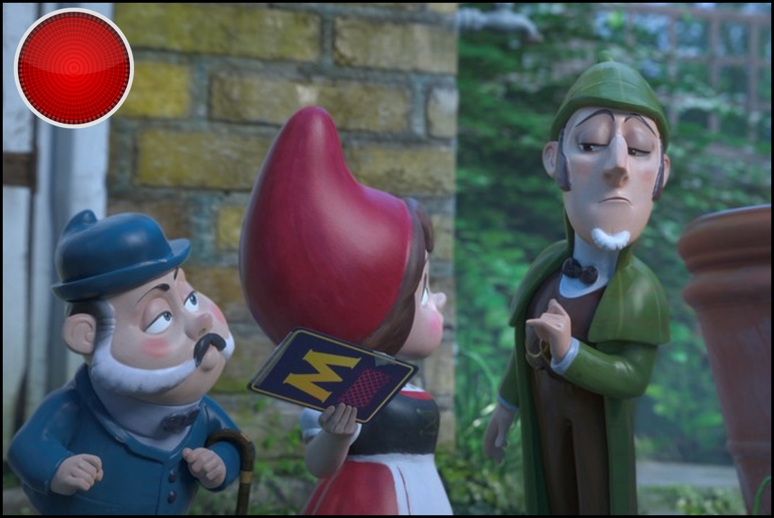 Sherlock Gnomes red light