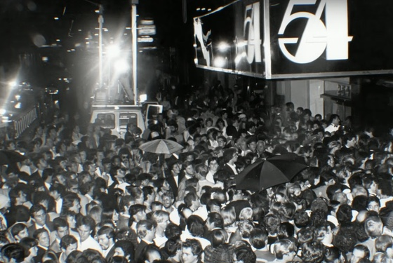 Absolutely everybody wanted in to Studio 54. Not everyone made it past the velvet ropes... a thing that the club pioneered.