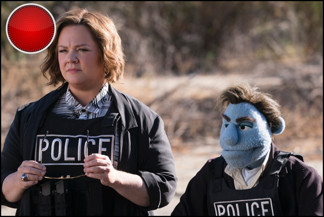 The Happytime Murders red light