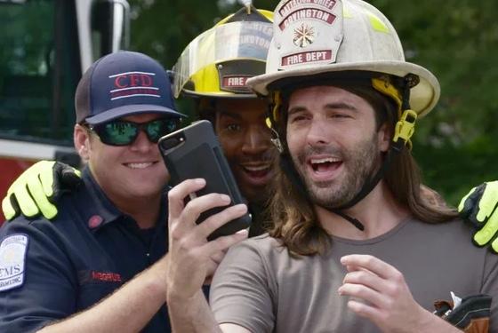 Everybody loves a fireman!