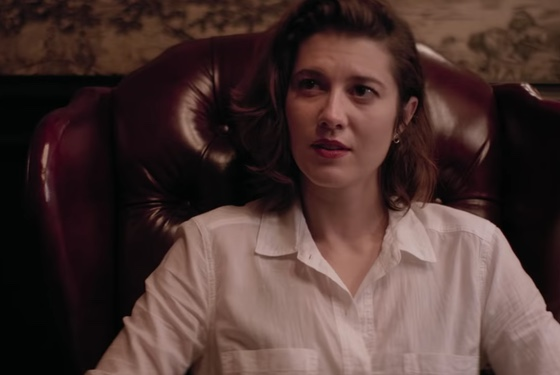 Mary Elizabeth Winstead sits in disdaining judgment of you and your bullshit.