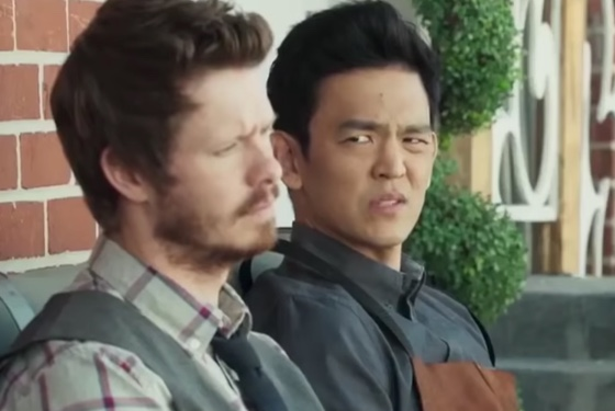 John Cho wonders how he ended up in this movie. But oh! Judy Greer asked nicely and who could refuse?