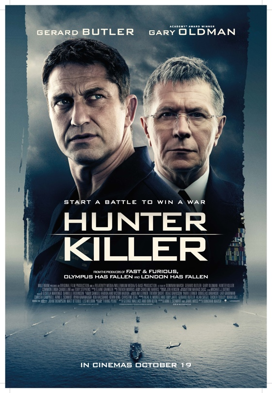 imdb hunter killer cast