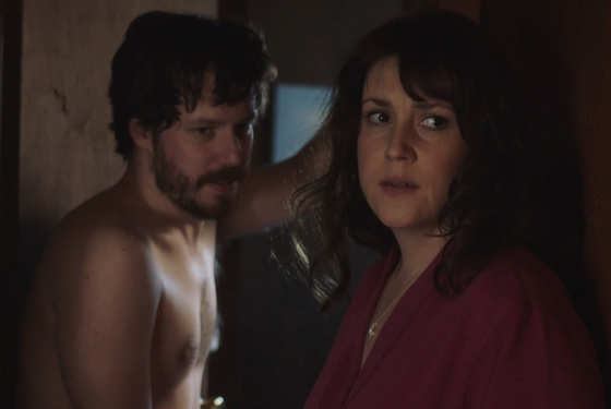 Ugh, why does Mom have to let her boyfriend walk around naked? Gross.