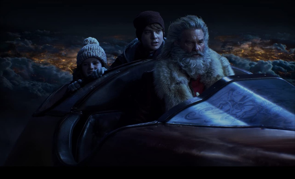 The Christmas Chronicles Netflix Kurt Russell Darby Camp Judah Lewis