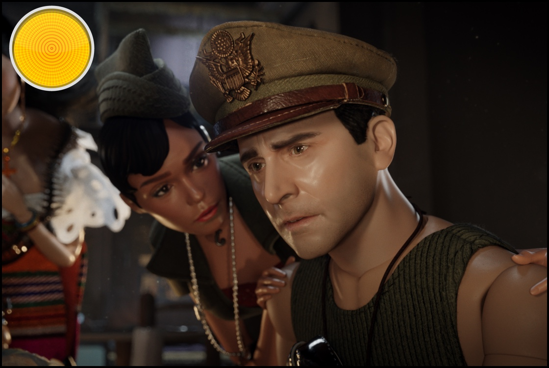 Welcome to Marwen yellow light