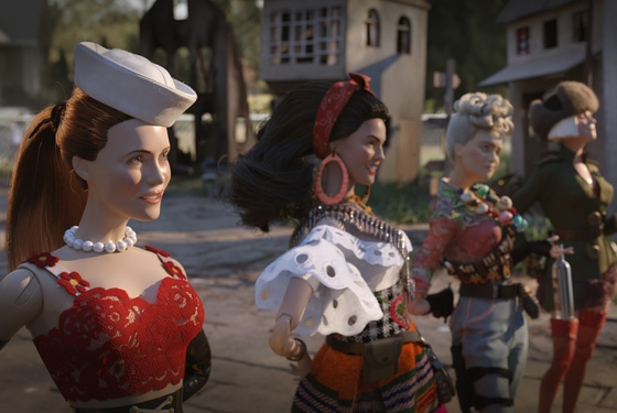 Welcome to Marwen sexy dolls
