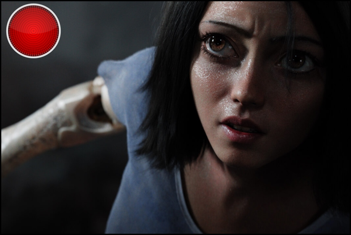Alita Battle Angel red light