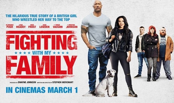 Fighting with My Family quad poster