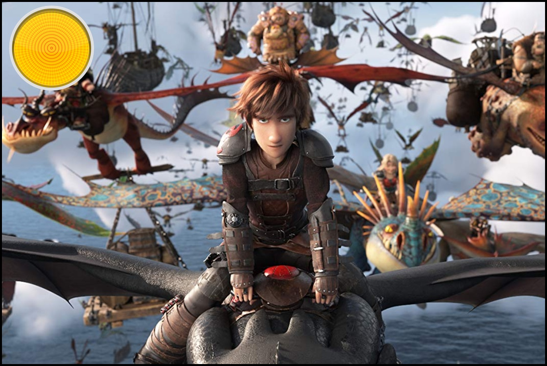 How to Train Your Dragon The Hidden World yellow light