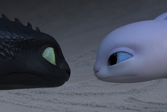 How to Train Your Dragon The Hidden World Night Furies