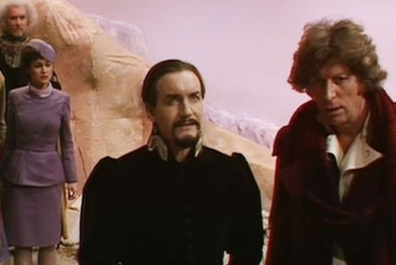 Doctor Who Logopolis Janet Fielding Anthony Ainley Tom Baker