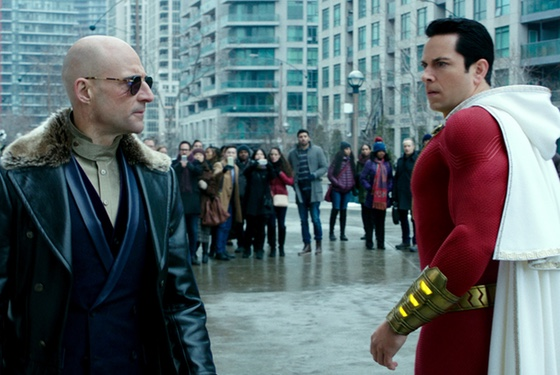 Shazam! Mark Strong Zachary Levi